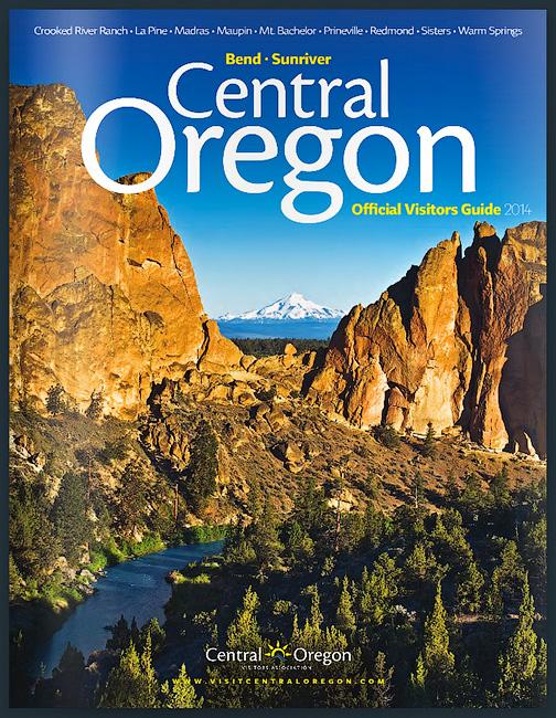 Central Oregon Visitors Guide cover
