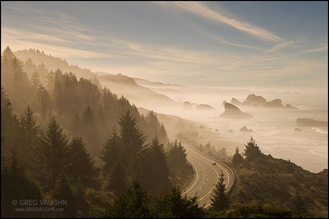 Highway 101 Cape Sebastian Oregon Coast