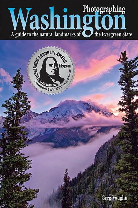 "cover of ""Photographing Washington"""